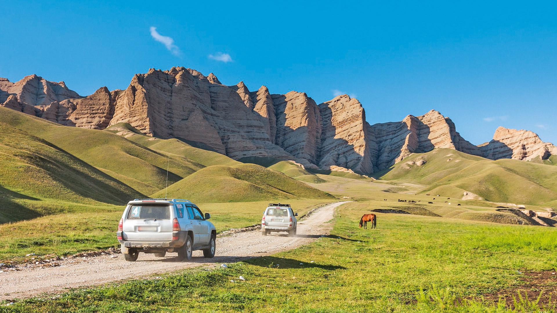 Tien Szan i Jedwabny Szlak Kirgistan, Wyc. objazdowe
