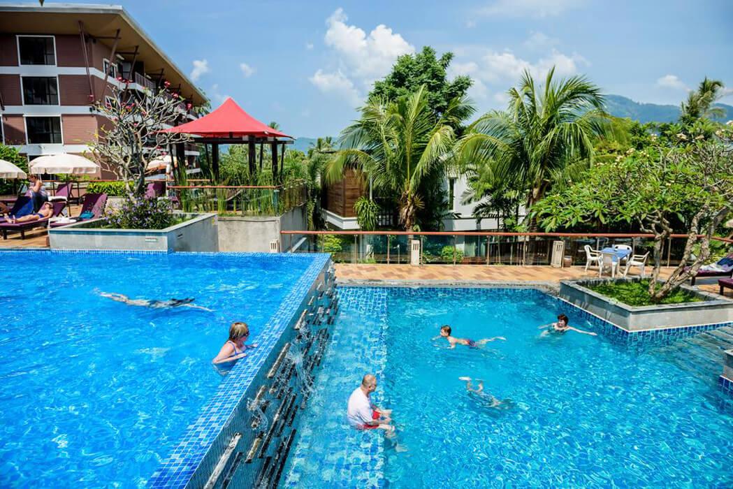 Peach Blossom Resort Tajlandia, Phuket, Karon Beach (Phuket)